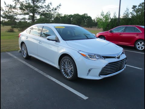 2016 toyota avalon limited full tour start up at massey. Black Bedroom Furniture Sets. Home Design Ideas