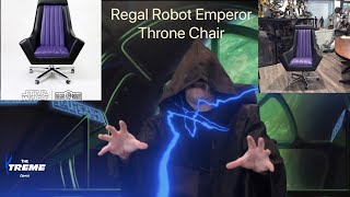 Is This Regal Robot Emperor Office Chair From Star Wars Really Worth 1500 Find Out Here Youtube
