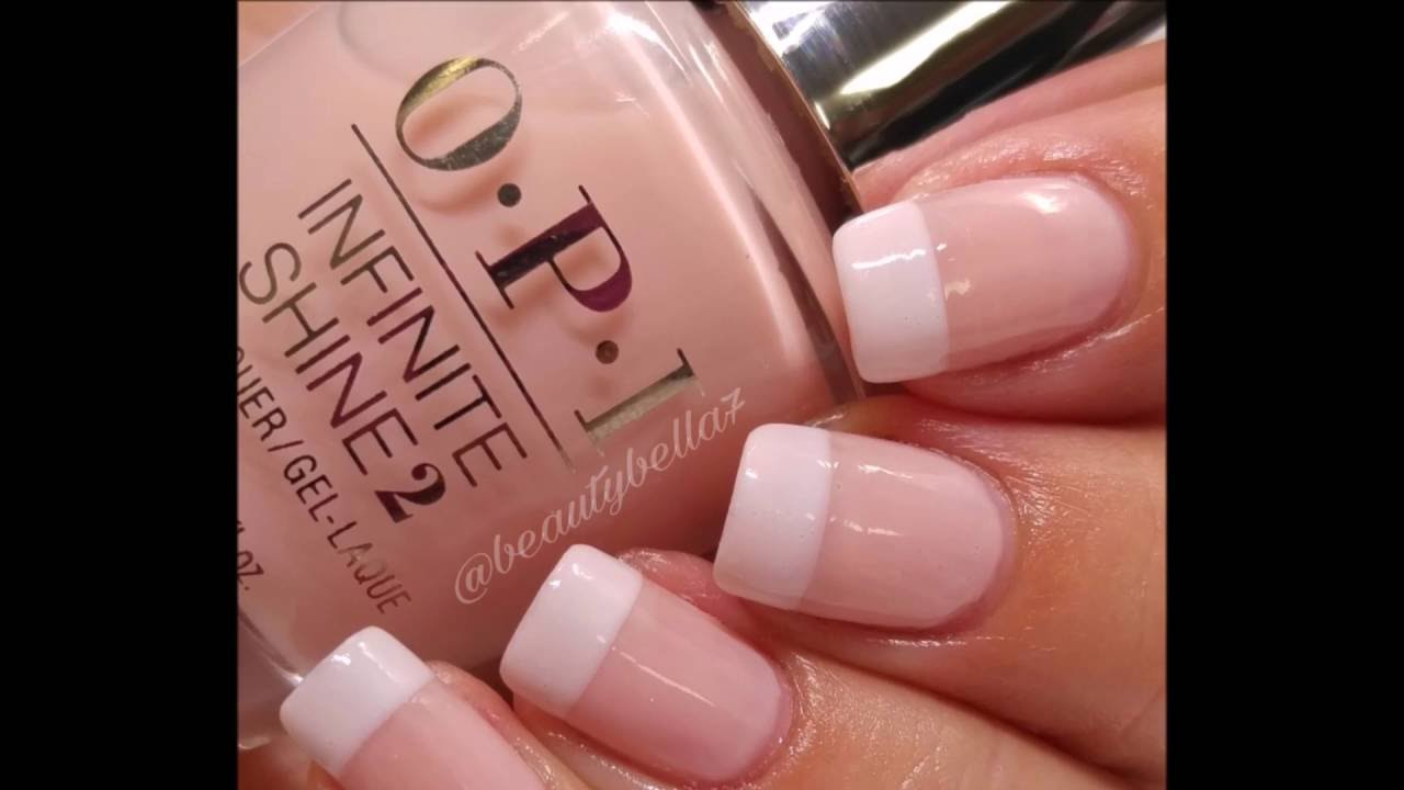 Classic French Manicure - YouTube