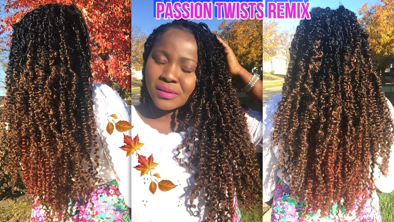 How To Do Passion Twists Remix