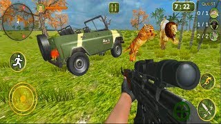 Sniper Hunters Survival Safari - Android GamePlay - Hunting Games Android #2