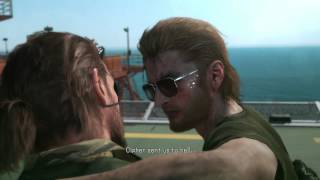 "Metal Gear Solid V: The Phantom Pain - Kazuhira Miller & Big Boss ""We're Diamond Dogs"" Cutscene PS4"