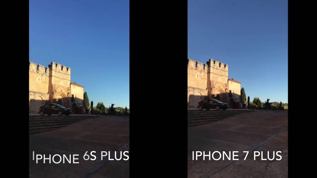 IPHONE 6S VS 6S PLUS CAMARA