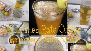 Summer Rate Cutter/Ramzan daily drink/Natural drink/Jaggery limb juice in English/Gur ka Sherbat