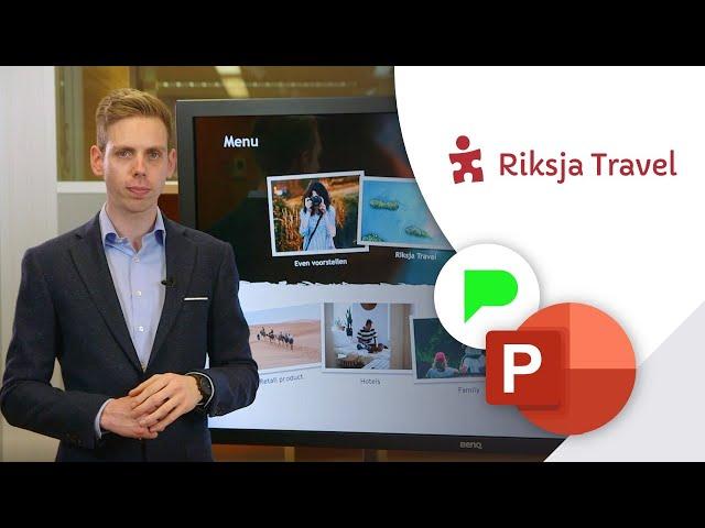 Visuele presentatie voor Riksja Travel | Portfolio | PPT Solutions