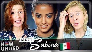 Baixar REACT Meet Sabina from Mexico - WE ARE NOW UNITED   Acorda, Berenice!
