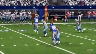 Madden NFL 15 - Dallas Cowboys vs New York Giants Gameplay [HD]