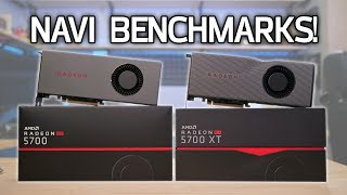 NAVI REVIEW: Radeon RX 5700 and 5700 XT Benchmarks vs RTX 2060 + 2070 Super!