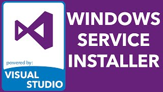 windows service installer with InstallShield LE