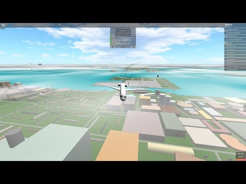 roblox-emergency land [place with airliners]