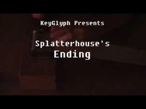 Splatterhouse Ending DIY Music Box