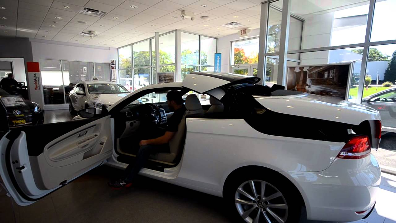 Brand New 2013 Volkswagen Eos Komfort Convertible In