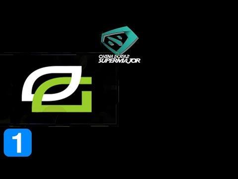 OpTic Gaming vs VGJ Storm Game 1 CHINA DOTA2 SUPER MAJOR Highlights Dota 2