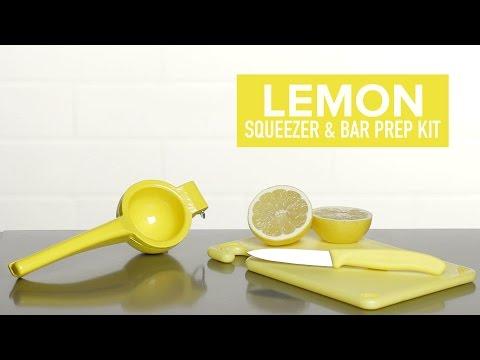 Lemon Squeezer & Bar Prep Kit