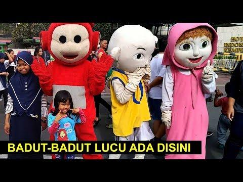 Ketemu Badut Badut lucu di CFD Jakarta
