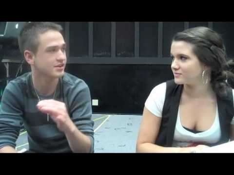 Aaron Kelly And Katie Stevens Interview Each Other