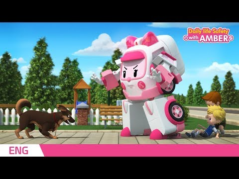 🚨 Daily life Safety with AMBER | EP 09 - 12 | Robocar POLI | Kids animation