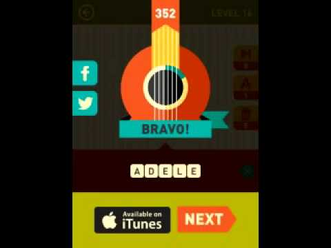 Icon Pop Song Quiz - Level 17 - game answers Walkthrough