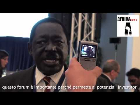 Forum Africa 2010 - interview with minister Atubo from Uganda