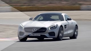 NEW 2015 Mercedes-AMG GT - First Drive on Racetrack