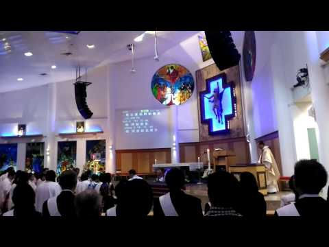 HYMN - EASTER SONG - HOLY TRINITY CHURCH - SINGAPORE