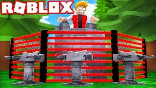 BUILD MORE SECURE AND PROTECTED ROBLOX BASE! (Base Raiders)