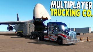 Multiplayer Trucking Is BACK | American Truck Simulator Gameplay | Members Convoy