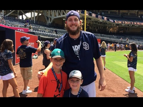 "Arizona Diamondbacks vs. San Diego Padres, featuring Kellan's ""First Pitch""(8/21/16)"