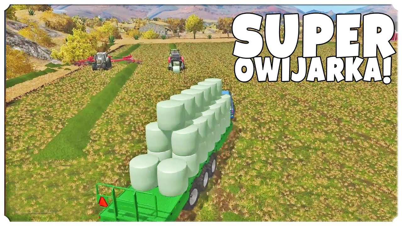 Farming Simulator 17 – SUPER OWIJARKA!