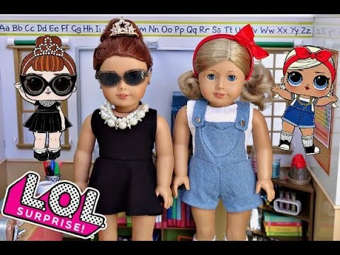 Turning My American Girl Dolls Into LOL Dolls
