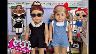 Turning My American Girl Dolls Into LOL Dolls