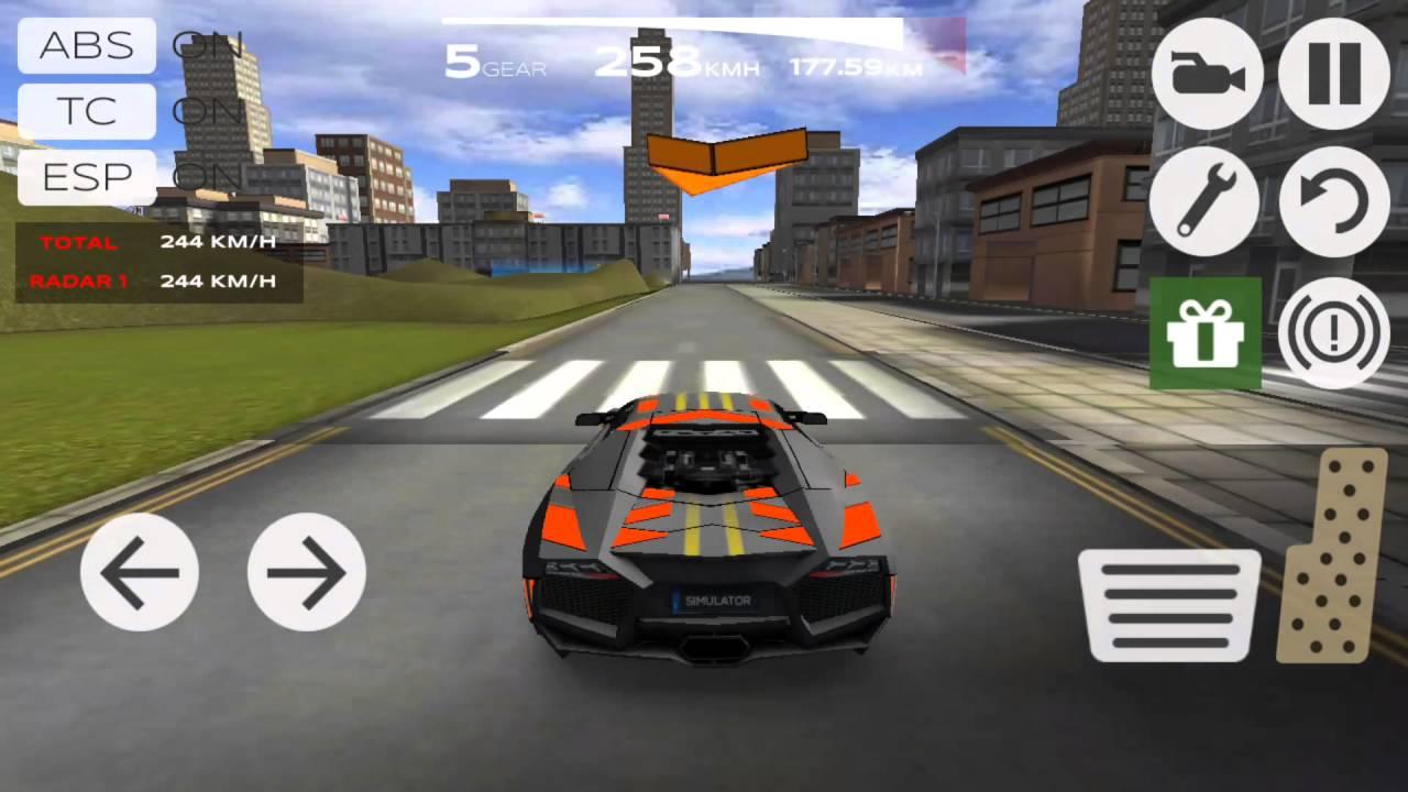 Game Play Extreame Car Driving 1 Lamborghini Walkthrough