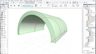 ArchiCAD 15 - Shells - Using composite structures for shells