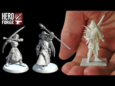 Figurines personalisées Hero Forge Hqdefault