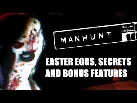 Manhunt All Easter Eggs, Secrets and Bonus Features HD