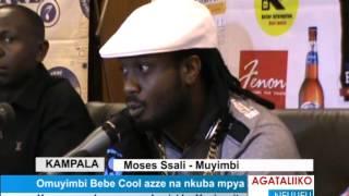 Omuyimbi Bebe Cool azze na nkuba mpya