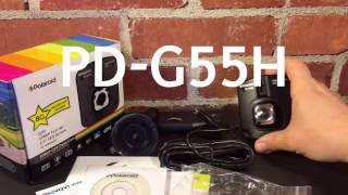 Polaroid PD-G55H 1080p GPS Dash Cam Unboxing and impressions