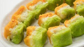 Tiranga Barfi Recipe | Indian Independence Day Special Tricolor Milk Burfi