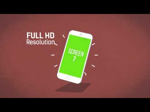 free after effects templates mobile app