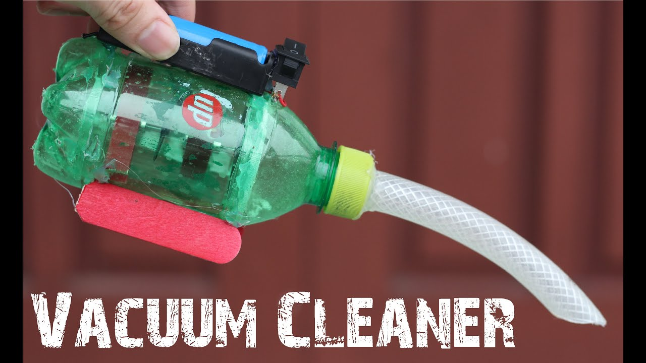 How To Make A Powerful Vacuum Cleaner Using 2 Coreless