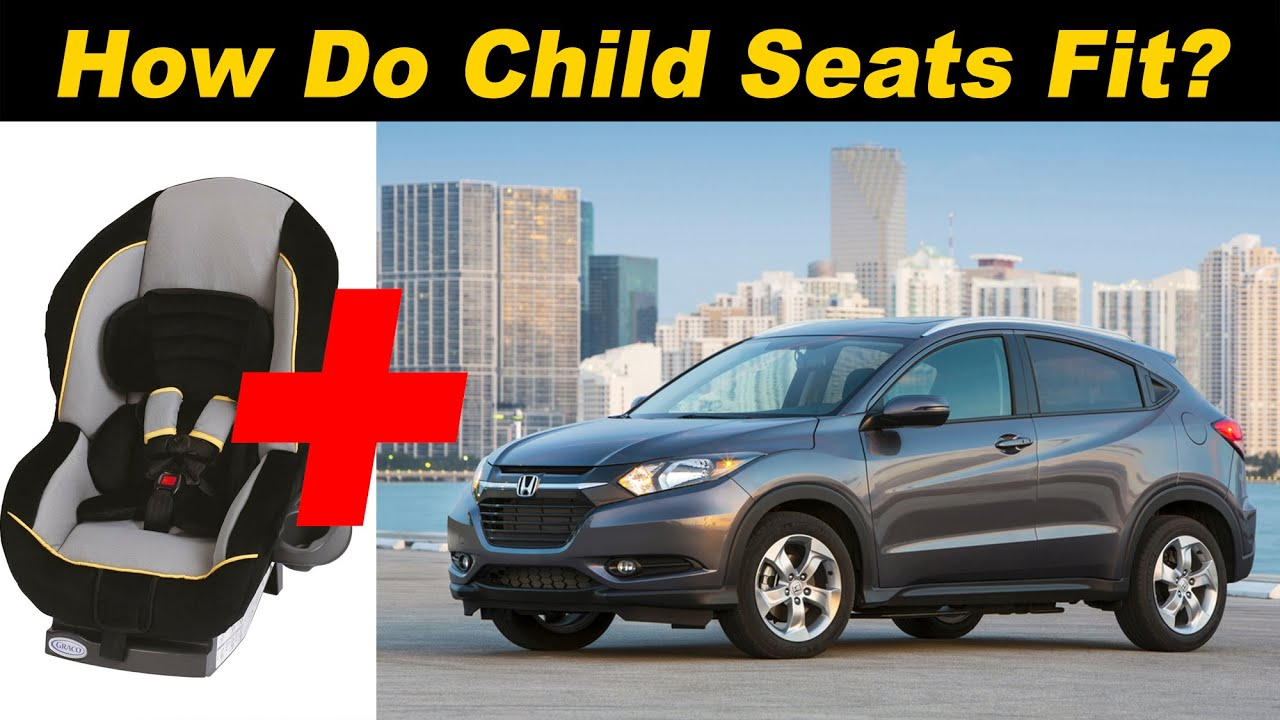 2016 honda hr v child seat review youtube. Black Bedroom Furniture Sets. Home Design Ideas