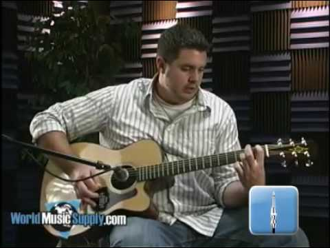 Alvarez RF20SC Folk Style Acoustic Guitar Demo