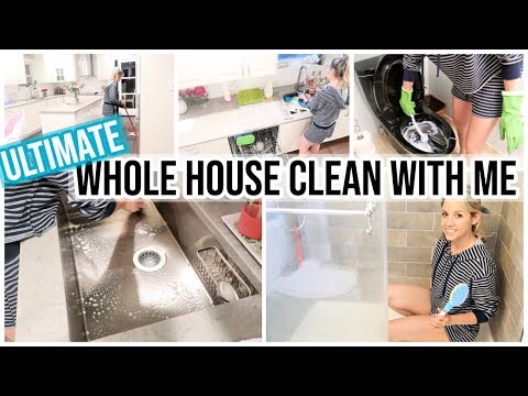 ULTIMATE CLEAN WITH ME 2019 // COMPLETE DISASTER CLEANING