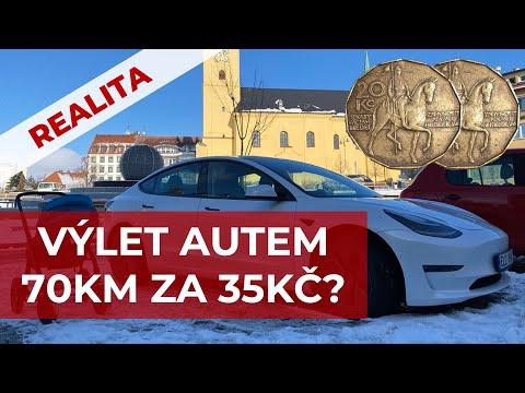 Teslou 70km za 35kč za kolik jezdíte vy? | WWW.TESLACEK.TV