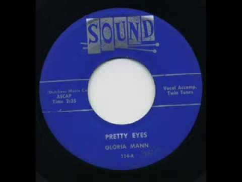 Gloria Mann & Grp.  Pretty Eyes  I Played The Fool  Sound 114 1955