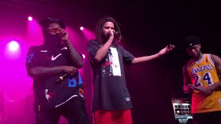 8 - No Hands & Beautiful Bliss - Wale & J. Cole (Over Time: Dreamville All-Stars Charlotte 2/17/19)