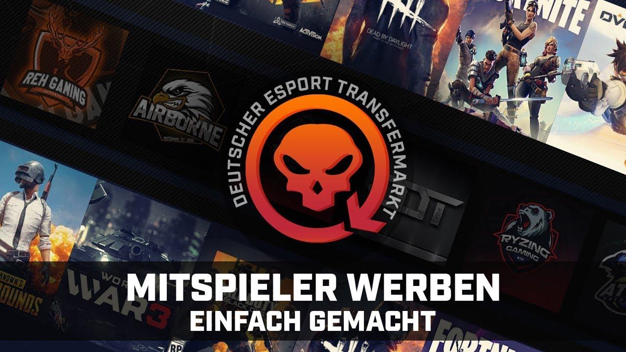 gamertransfer com // LFG Clans, Teams und Mitspielersuche