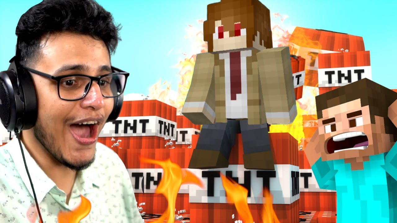 Download Biggest TNT Explosion in Minecraft Ever || I Blew Up My World