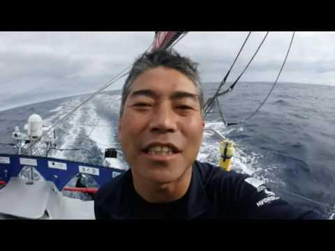 Images de bord de Kojiro Shiraishi / Vendée Globe