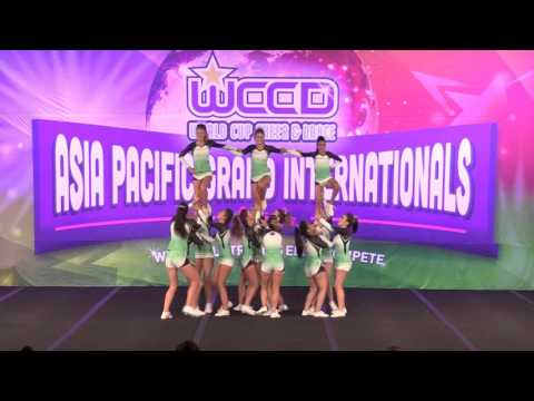 2015 PDC Asia Pacific Grand Internationals Gold Coast - Open Cheer Lv 2 Supremacy 3rd Place